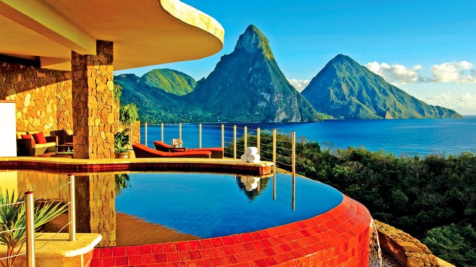 Hotel Review Jade Mountain St Lucia The Luxury Travel Expert - 10 best caribbean island vacation destinations